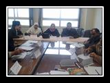 الإعداد للملتقى العلمى العربى الاول لمركز تنمية القدرات بجامعة بنها