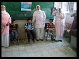 قوافل طبية بجامعة بنها لعلاج ووقاية أطفال المدارس من أمراض العيون