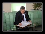 القاضي في جولة بالحرم الجامعي بجامعة الفارابي