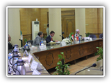 اتفاقية تعاون بين جامعتى بنها وسارى بالمملكة المتحدة