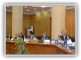 Benha University President receives the Delegation of the British Council