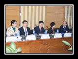 القاضي يستقبل وفد جامعة العاصمة الصينية
