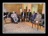 رئيس جامعة بنها يستقبل وفد مركز الخدمات المعرفية والتكنولوجية بالمجلس الأعلى للجامعات