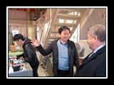 رئيس جامعة بنها فى زيارة معامل كلية الهندسة بجامعة ميازاكي ومحطات توليد الطاقة المتجددة والشمسية