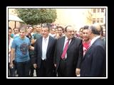 محافظ القليوبية ورئيس جامعة بنها يتفقدان كليات الجامعة ويستقبلان الطلاب الجدد