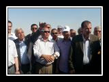 وفد من جامعة بنها يزور مشروع قناة السويس الجديد