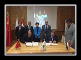 اتفاقية جديدة بين جامعة بنها وجامعة نينغشيا الصينية