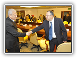 إتفاقية تعاون في مجال الإتصالات وتكنولوجيا المعلومات بالجامعات المصرية