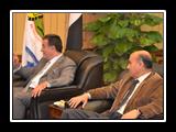 جامعة بنها تستقبل المستشارة الثقافية بالسفارة الأمريكية لحضورها الملتقى الثقافي العالمي