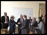 فاعليات زيارة وفد مجلس تمويل التعليم العالي بانجلترا لجامعة بنها