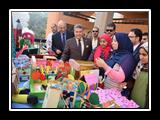 افتتاح معرض الإبداعات الفنية لطلاب نوعية بنها