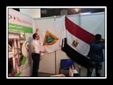 جامعة بنها يضع اللمسات النهائية بجناح الجامعة بالمعرض والمؤتمر الدولي للتعليم العالي لمنطقة الشرق الأوسط بالعاصمة اﻻردنية عمان