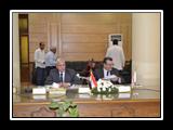 وزير التعليم العالي يرأس إجتماع مجلس جامعة بنها