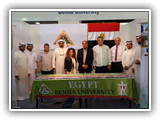 إستقبال حافل لوفد جامعة بنها المشارك في معرض التعليم والتدريب بالكويت