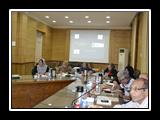 ورشة عمل حول تطبيق جودة الاعتماد على ادارى جامعة بنها