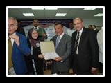 السيدة/ سهير عبدالعال: أمين عام الجامعة للشئون الإدارية