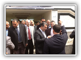 رئيس الجامعة يزور كلية الهندسة بشبرا