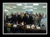 إحتفالية تسليم شهادات TOT لمدرسين اللغة بالجامعة