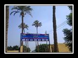 رئيس جامعة بنها يتفقد مشروع مركز التنمية الرياضية والشبابية بمشتهر
