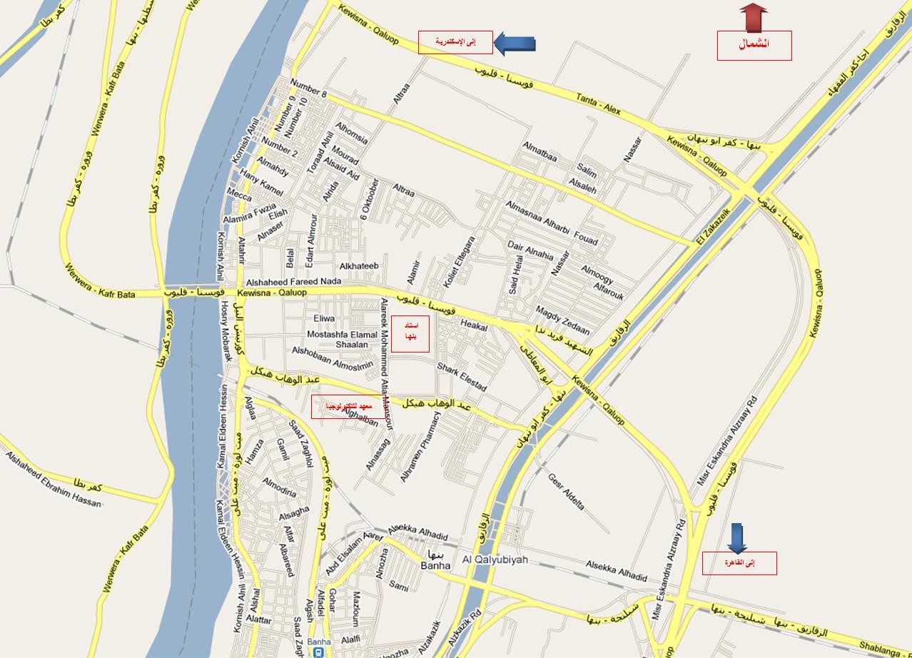 خريطة الوصول