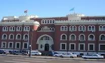 إستضافة جامعة الإسكندرية لكل من رئيس إتحاد طلاب جامعة بنها والأمين المساعد
