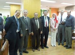 إجتماع اللجنة القومية لمشروع ICTP