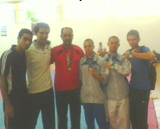 فوز جامعة بنها في رياضة الكارتية في الأولمبياد الرابعة بالإسكندرية