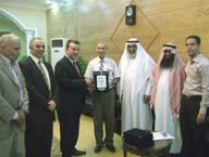 Shams honors the Arab Delegations participated in the Agronomy Conference