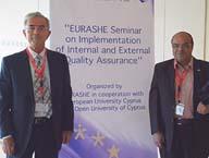 جامعة بنها تشارك في السيمينار الأوربي عن  توكيد الجودة  EURASHE 2012
