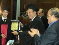 Ceremony of Gradates 2012 at the Faculty of Commerce