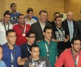 في حفل تكريم الطلاب الفائزين في الأولمبياد الرابع بالأسكندرية  رئيس جامعة بنها