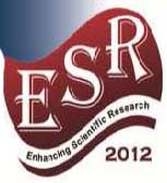 "The 3rd Conference for ESR 2012 ""Research Projects and Their Outcomes"""