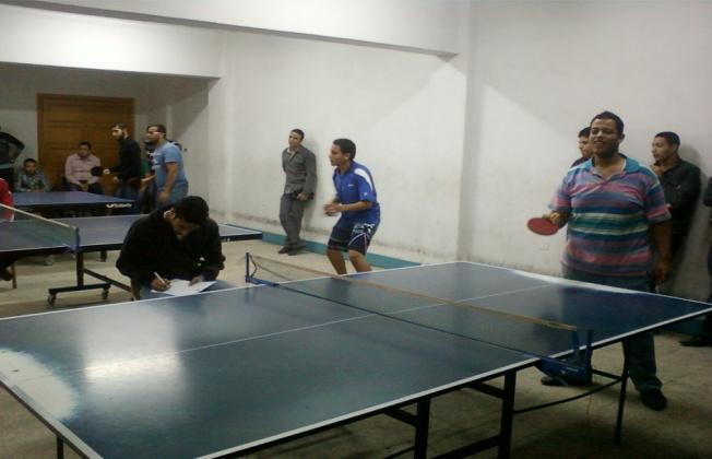 دوري الأسر الطلابية في ( رياضة  تنس الطاولة )