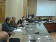 Prof. Dr. Soliman Mustafa meets the Mangers of Student Affairs at Faculties
