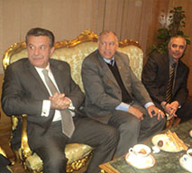 Prof. Dr. Ali Shams attends the Graduation Ceremony of the Faculty of Engineering