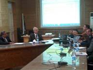 إجتماع المدير التنفيذى للمشروعات مع السادة مديرى المشروعات بالجامعة