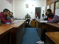 الدورة الكشفية الثانية عشر لجوالة جامعة بنها