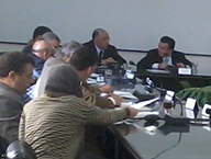 Prof. Dr. Ali Shams El Din visits the Faculty of Agriculture