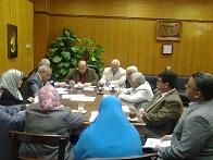 اجتماع مجلس إدارة المدن الجامعية