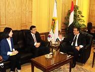 تعاون علمي بين جامعة بنها والسفارة الكورية