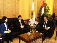 Scientific Cooperation between Benha University and the Korean Embassy