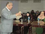 تنمية مهارات الإستقبال والعلاقات العامة لإداري جامعة بنها