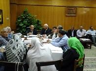 إجتماع مجلس إدارة المدن الجامعية
