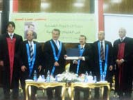 Benha University receives Prof. Dr. Mustafa El Sayed