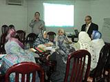 دورات تدريبية عن توصيف البرامج والمقررات لأعضاء هيئة التدريس بكلية التمريض وهندسة بنها