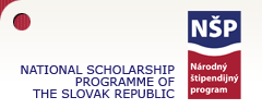 Scholarships from the National Scholarship Programme of the Slovak Republic 2013/2014