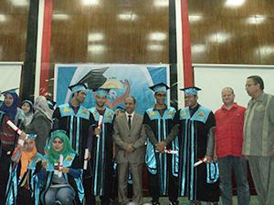 حفل خريجي كلية الآداب وإفتتاح أنشطة مبادرة بداية