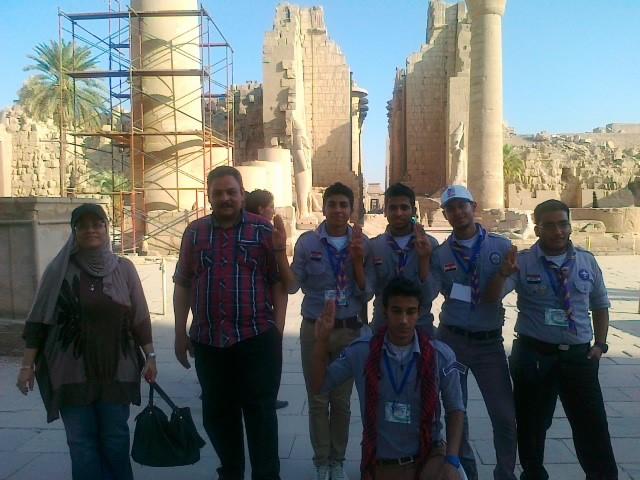 شاركت جامعة بنها فى معسكر العمل الدولي السادس لجوالي وجوالات الجامعات العربية