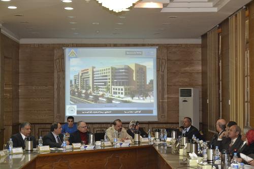 أنشاء مبنى لعلوم بنها بكفر سعد بتكلفة تزيد عن 100 مليون جنية