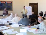 دورات لتوصيف البرامج وخرائط المنهج لأعضاء هيئة التدريس بكلية التربية